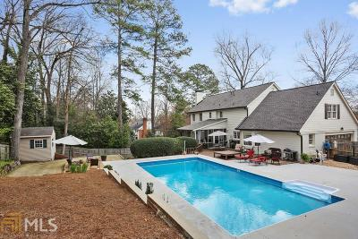 Marietta Single Family Home New: 3261 Turtle Lake Drive SE