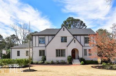 Atlanta Single Family Home New: 2504 Birchwood Drive