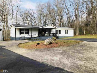 Habersham County Single Family Home Under Contract: 1485 Camp Creek