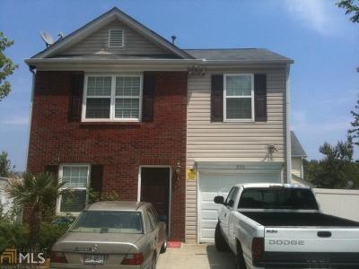 Acworth Single Family Home New: 206 Oak Grove Way