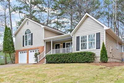 Acworth Single Family Home New: 3616 Spring Leaf Lane