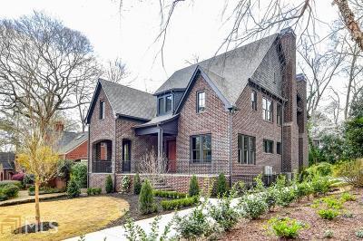 Atlanta Single Family Home New: 1149 Cumberland Road NE