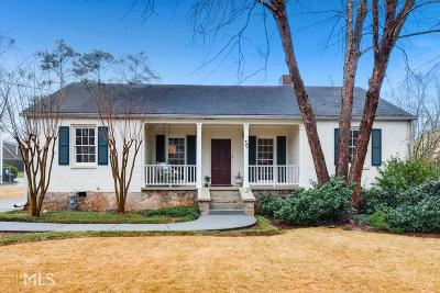 Avondale Estates Single Family Home Under Contract: 30 Kensington Rd