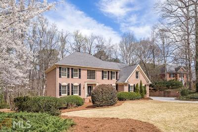 Sandy Springs Single Family Home New: 7245 Chattahoochee Bluff Dr