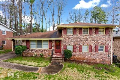 Decatur Single Family Home New: 3076 Weslock Circle