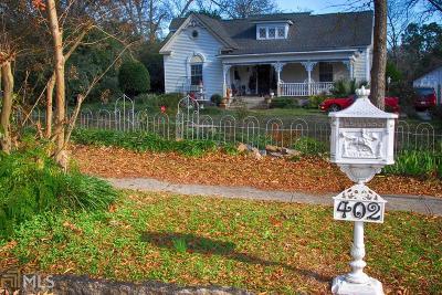 Buckhead, Eatonton, Milledgeville Single Family Home New: 402 N Madison Avenue