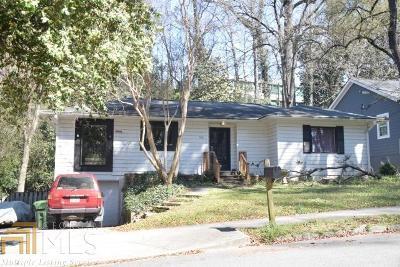 Atlanta Single Family Home New: 388 NE Wimbledon