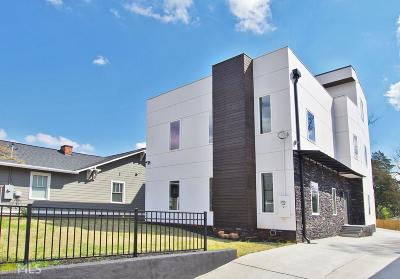 Atlanta Single Family Home New: 126 Moreland Avenue SE