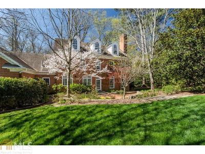 Atlanta Single Family Home New: 1354 The By Way NE