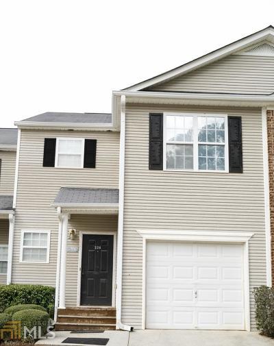 Hiram Single Family Home New: 236 Venture Path