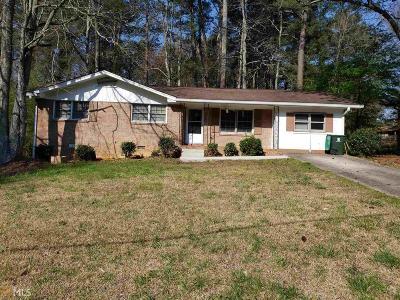 Atlanta Single Family Home New: 2853 The Meadows Way