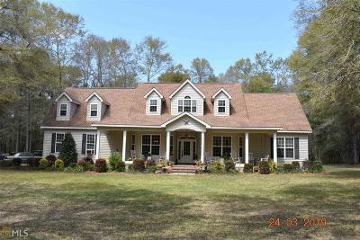 Statesboro Single Family Home New: 36 Brannen Lake