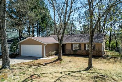 Roswell Single Family Home New: 155 Worthington Hills Trace