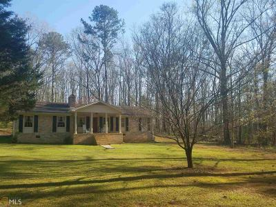 Newnan Single Family Home Under Contract: 549 Buddy West Rd