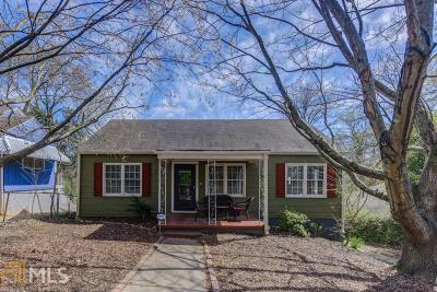 Atlanta Single Family Home Under Contract: 448 East Side Avenue