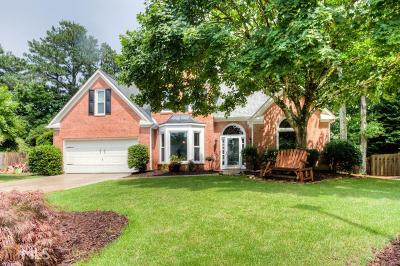 Johns Creek Single Family Home Under Contract: 11170 Brookhollow Trl