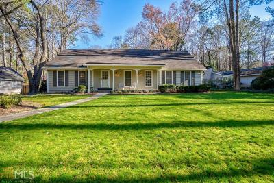 Sandy Springs Single Family Home New: 7135 Hunters Branch Dr