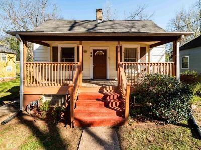 Atlanta Single Family Home New: 98 Brown Avenue