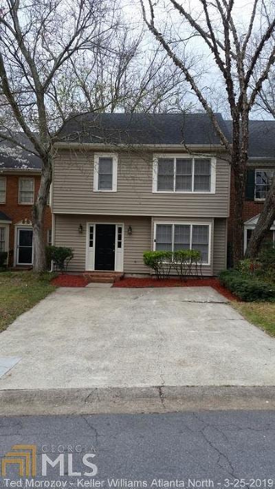 Marietta Condo/Townhouse New: 598 Salem Woods Drive