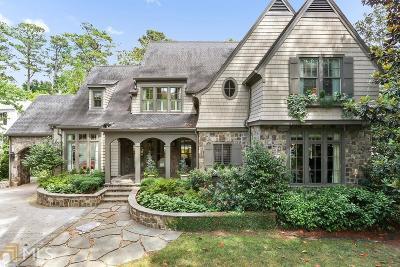 Atlanta Single Family Home New: 3303 Habersham Rd