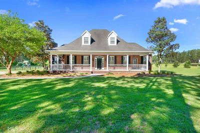 Statesboro Single Family Home For Sale: 7680 Banks Dairy Rd