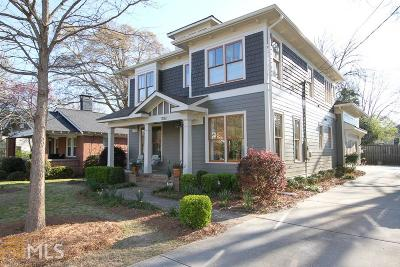 Decatur Single Family Home For Sale: 1032 E Lake Dr