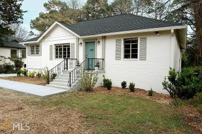 Tucker Single Family Home For Sale: 1685 Cooledge Rd