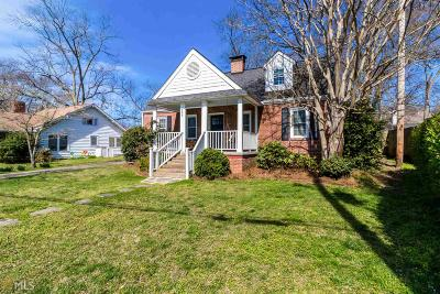 Norcross Single Family Home Under Contract: 293 Academy