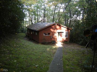 Rabun County Single Family Home Under Contract: 38 Aspen Ln #66-67-68
