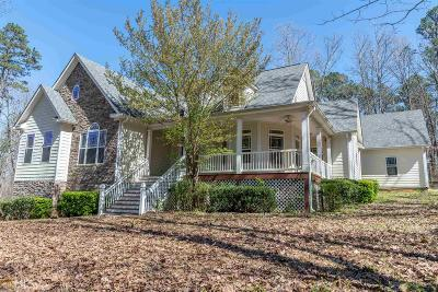 Banks County Single Family Home Under Contract: 151 Dan Waters Dr