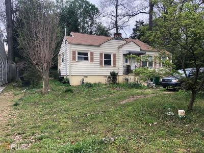 Brookhaven Single Family Home Under Contract: 1518 Bates Ct
