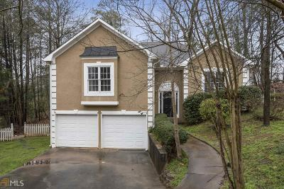 Cobb County Single Family Home Under Contract: 550 Summertree Ct