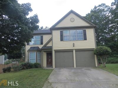 Fulton County Single Family Home Under Contract: 13640 Weycroft
