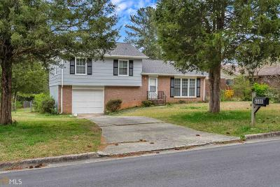 Fulton County Single Family Home New: 6590 Kimberly Mill Rd