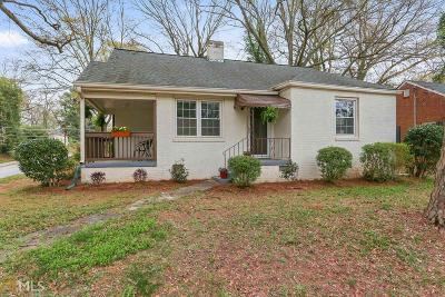 Atlanta Single Family Home New: 1504 Beatie Avenue