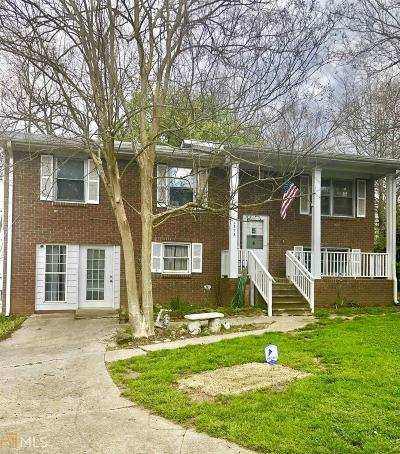 Clayton County Single Family Home New: 6773 6773 Bedford