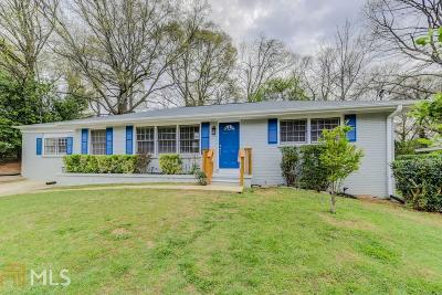 Atlanta Single Family Home New: 783 Casplan Street SW