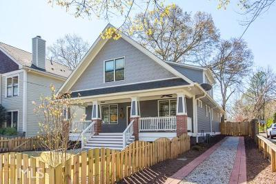 Kirkwood Single Family Home Under Contract: 1693 Hosea L Williams Dr