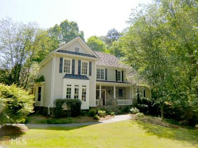 Dawsonville Single Family Home For Sale: 138 River Overlook Rd