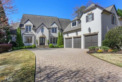 Marietta, Roswell Single Family Home Under Contract: 554 Rivercliff Trce