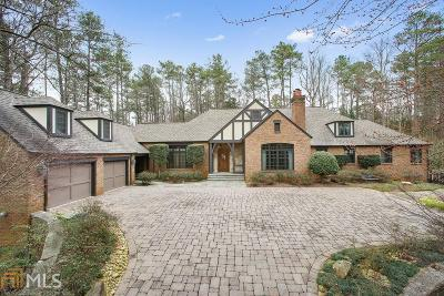 Roswell, Sandy Springs Single Family Home For Sale: 5595 Cross Gate Dr