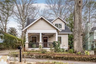 Decatur Single Family Home Under Contract: 136 Emerson Ave
