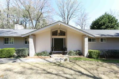 Sandy Springs Single Family Home For Sale: 4905 Northway Dr