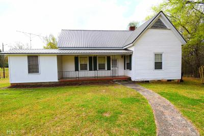 Jasper County Single Family Home For Sale: 240 Old Macon Rd
