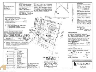 Kennesaw Residential Lots & Land For Sale: Greers Chapel