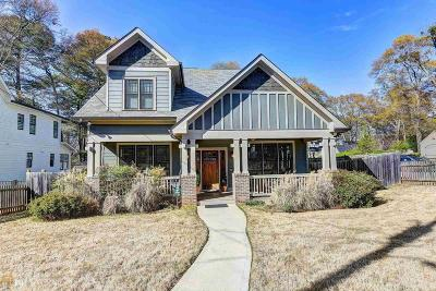 Decatur Single Family Home Under Contract: 220 E Pharr