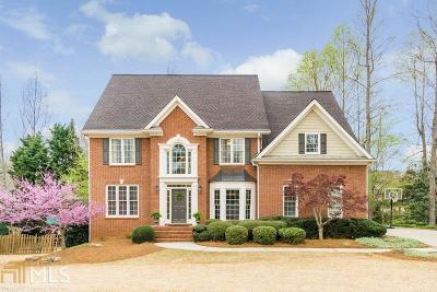Roswell Single Family Home Under Contract: 445 Edenbrooke Way