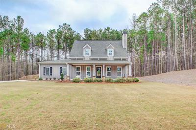 Newnan Single Family Home Under Contract: 163 Green Park Way