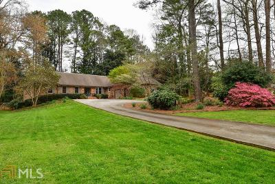 Stone Mountain Single Family Home Under Contract: 5668 Stillwater Ct