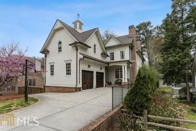 Roswell, Sandy Springs Single Family Home For Sale: 116 Spruell Springs Rd